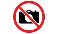 Divieto di attività di foto e video ripresa
